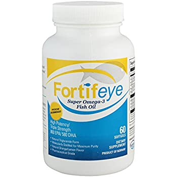Fortifeye vitamins super omega 3 fish oil for Triglyceride fish oil