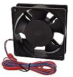 Rodale E1503 Cooling Fan, DC, 12V, 120 mm x 120 mm x 38 mm