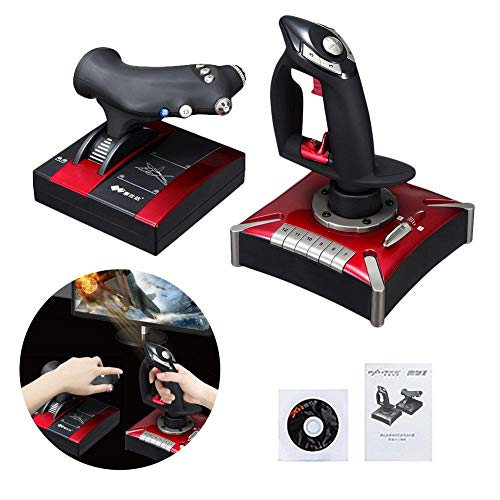 Per Flight Stick PC Game USB Interface Computer Game Joystick with Vibration Analog Controller