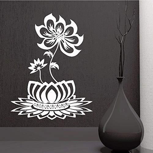 jiuyaomai Decoración para el hogar extraíble Flor de Loto diseño ...