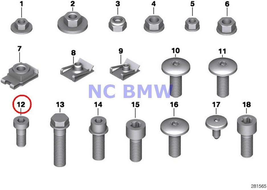 steel grub screws M8*20 Reprap CNC Grano M8x20 brugola in acciaio