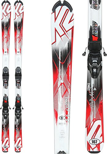 K2 Strike Skis w/Marker M2 Quikclik Bindings Mens Sz 167cm