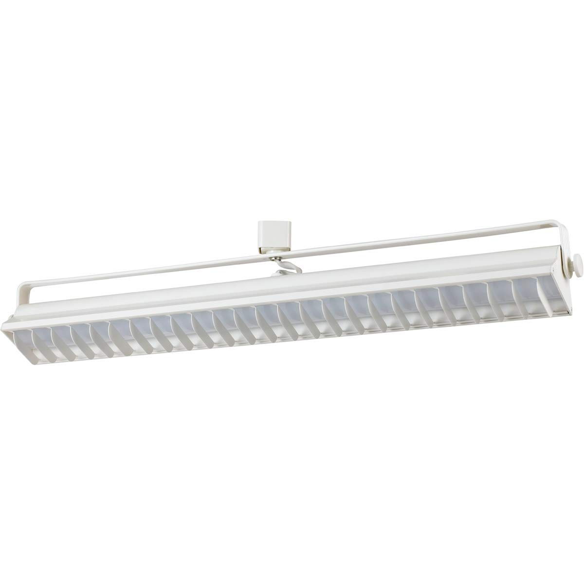 Track Lighting 1 Light Fixtures with White Finish Metal Material Integrated Bulb 3'' 60 Watts