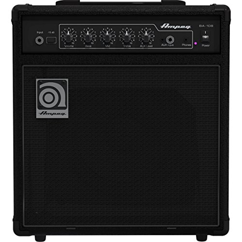 Ampeg BA-108v2 | 20 Watts RMS Power 8 inch Bass Amp Speaker by Ampeg