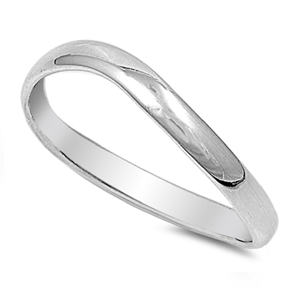 New .925 Sterling Silver Custom Fit Thumb Ring Sale 3mm Band Sizes 5-11 (sterling-silver, 10)