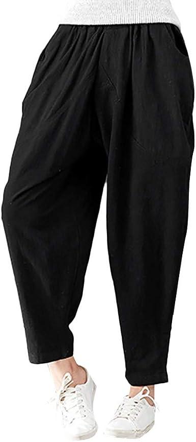 Cocoty-store 2019 Pantalones de Algodón Suave Piernas Pantalones ...