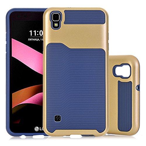 LG Tribute HD Case, LG X Style Case, LG Volt 3 Case,Beimu Hybrid Dual Layer Flexible TPU Bumper & Hard PC Rugged Premium Shockproof Protective Cover For LG Tribute HD LS676 / LG X Style / LG Volt 3