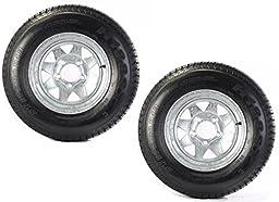 2-Pk Eco Trailer Tire & Rim ST175/80D13 13\
