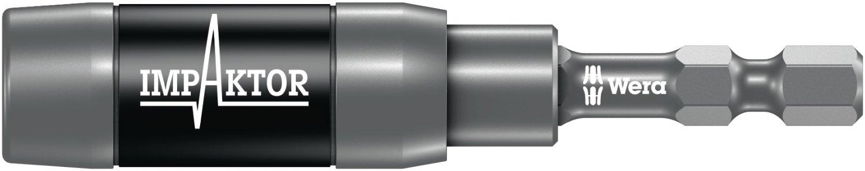 897/4 IMP R Porta-puntas Impaktor con anillo de retenció n e imá n anular, 1/4 pulgada x 75 mm Wera 05057676001