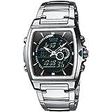 Casio Edifice – Men's Analogue/Digital Watch with Stainless Steel Bracelet – EFA-120D-1AVEF