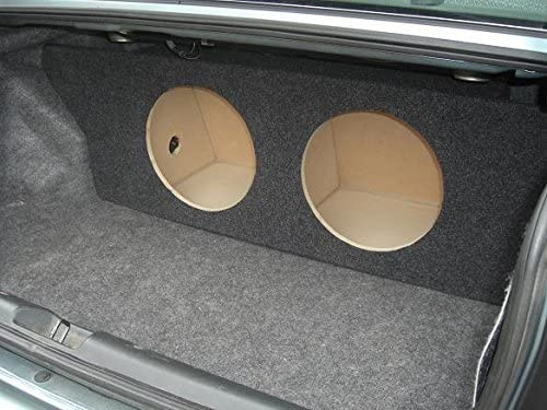 Custom Sub Enclosure Subwoofer Box for a 01-05 Honda Civic 2 12 Subs