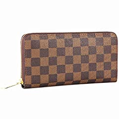 The Miracle premium zipper around wallet is made of luxury nice texture blended cowhide leather. Its spacious design, numerous compartments and an all-round zip closure allow you to keep your purse organized and carry as a clutch from day to ...