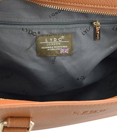 Noir London pour 2CTP Sac Noir femme LYDC Beige main Marron L1325 taupe à Cx6Ynwd