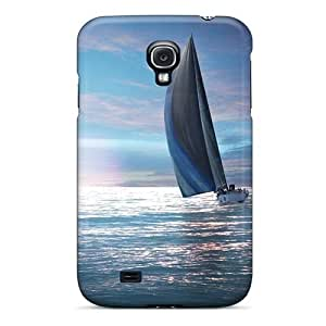 Premium KoVosdu5277WCZAL Case With Scratch-resistant/ Blue Sailing Case Cover For Galaxy S4
