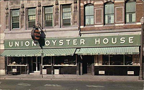 Union Oyster House Boston, Massachusetts Original Vintage Postcard (Union Vintage Postcard)