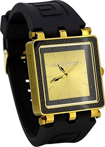 Rockwell Time CF Lite Watch, Black/Gold