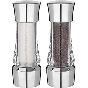 Trudeau No Mess Adjustable Salt & Pepper Mill Set