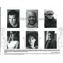 "1996 Press Photo ""Ransom"" Mel Gibson,Gary Sinese,Lili Taylor,Rene Russo, Mullen"