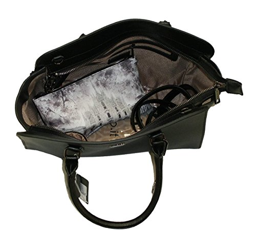 BORSA YNOT H720 NEW BAULETTO PELLE SAFFIANO LEATHER кожаная сумка NERO