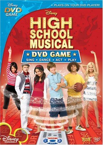High School Musical: DVD Game (High School Musical 2 Dvd Game)