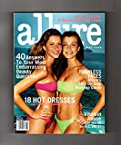 Allure Magazine - May, 1998. Giselle Bundchen and Aurelie Claudel cover. Chloe Sevigny; Laura San Giacomo; Charis Wilson; 40 Embarrassing Questions Answered; 18 Hot Dresses; Flawless Faces; Vitamin Abuse; A Model Loses Her Looks; Rent-A-Celeb