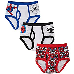 Fruit of the Loom Little Boys' Three Pack of Spider-Man Briefs