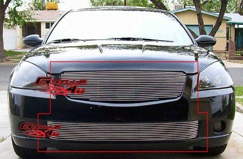 (Fits 2005-2006 Nissan Altima Billet Grille Combo #N87965A )