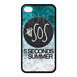 Zheng caseZheng casePersonalized Keep Calm and Listen to Five Seconds of Summer 5 SOS Colorful Phone Case Suitable for iPhone 4/4s and iPhone 4/4sS