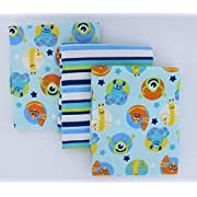 Disney Baby Monster University 3-Pack Receiving Blanket