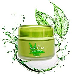 YOU CAN BE BEAUTIFUL AT ANY AGE - THE SECRET TO PERFECT SKIN, LOOKING GOOD AND BEING HEALTHY - ALL IN ONE! The GREEN TEA MATCHA MUD MASK for ALL Skin Types That Actually Works! We use only the freshest ingredients from GREEN TEA extract, VOLCANIC min...