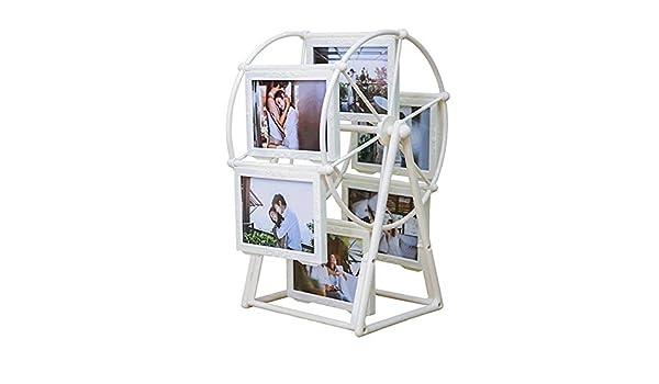 weiwei Portaretrato Creativo Noria, Dormitorio De Los Niños Abs Personalidad Combinación Marco De Fotos De Regalo: Amazon.es: Hogar