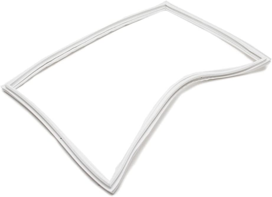 Whirlpool W10443315 Refrigerator Door Gasket Genuine Original Equipment Manufacturer (OEM) Part White