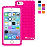 Snugg iPhone 5/5s Case - Protective, Non-Slip Silicone Case With Lifetime Guarantee (Hot Pink) For Apple iPhone 5/5s