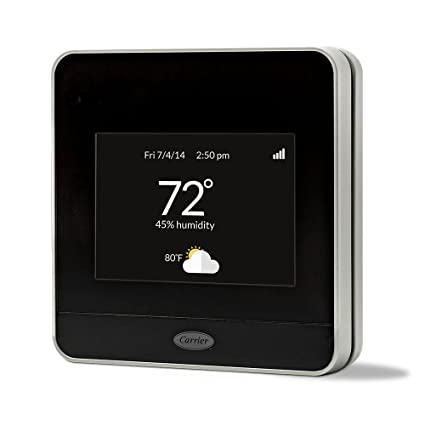 CARRIER Cor 7 Day Programmable Wi Fi Thermostat With Energy Reports  TP WEM01     Amazon.com