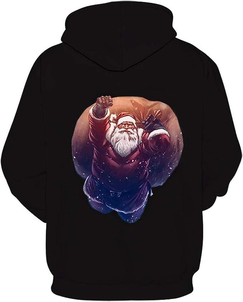 RedBrowm Men Winter Fleece Pocket Hoodie Warm Sweatshirt Long Sleeve Pullover
