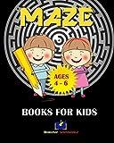 Maze Books for Kids 4-6