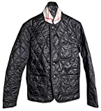 Burberry Men's Gillington Black Quilted Jacket (XL)