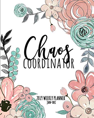 19 Weekly Planner Jan-Dec: A Simple Planner For Busy Women ()
