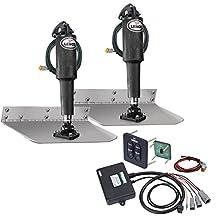 "Lenco 9"" x 12"" Standard Trim Tab Kit w/Standard Tactile Switch Kit 12V (29287)"
