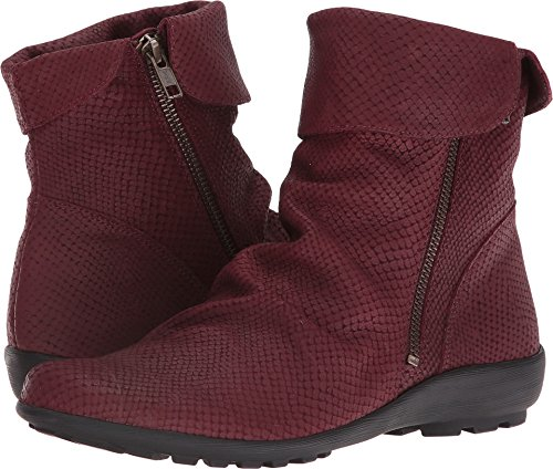 Walking Cradles Women's Heist Wine Snake 10 N US (Matte Footwear Snake)