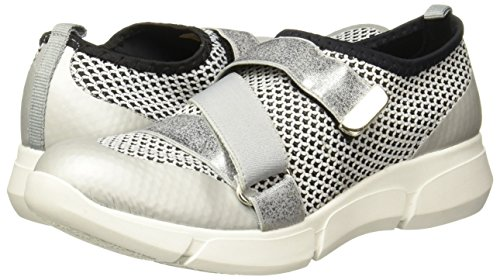 Plata para Low Top Mujer Sneaker Andrea 2453309 xFqPTY4p