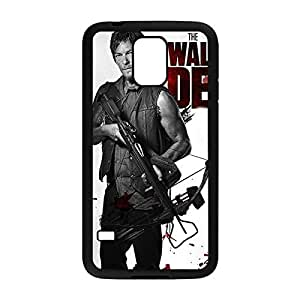 Special & Simple Design The Walking Dead Daryl Dixon Hard Plastic Case Cover for Samsung Galaxy S5 with Image Black 022701 by mcsharks