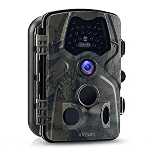 Amazon.com: Victure Trail Game Camera 1080P 12MP Wildlife Hunting ...