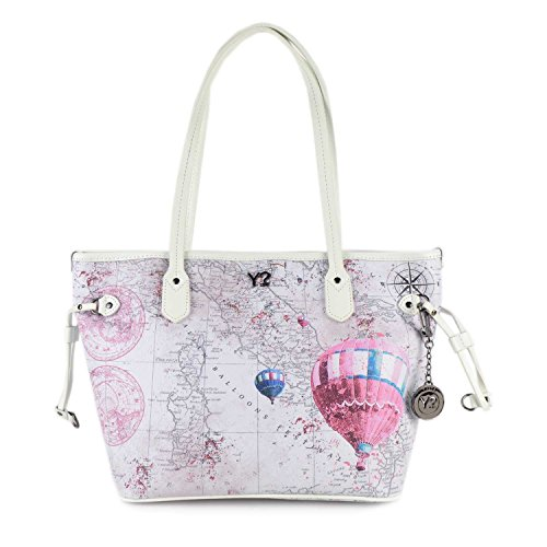 Borsa Shopping media Y Not - H336 Discover Pink