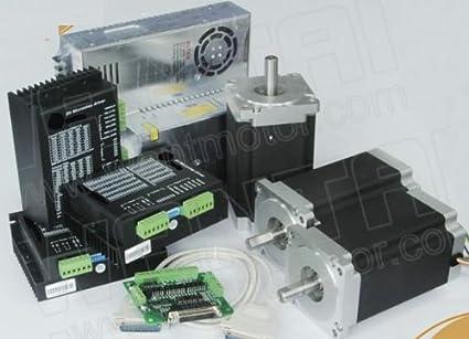 Amazon.com: GOWE NEMA 34 motor paso a paso 1090oz-in, 5.6 A ...