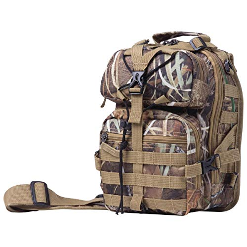 - Extreme Pak Back Sling Backpack, Compact Storage and Convenient Carrying for People On The Go, Camo, 11-inch
