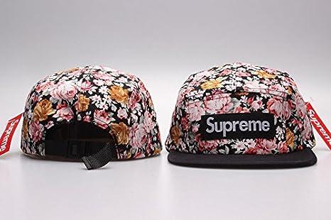 Supreme 5 Panel ventajosa Breakout gorra con Pom: Amazon.es ...