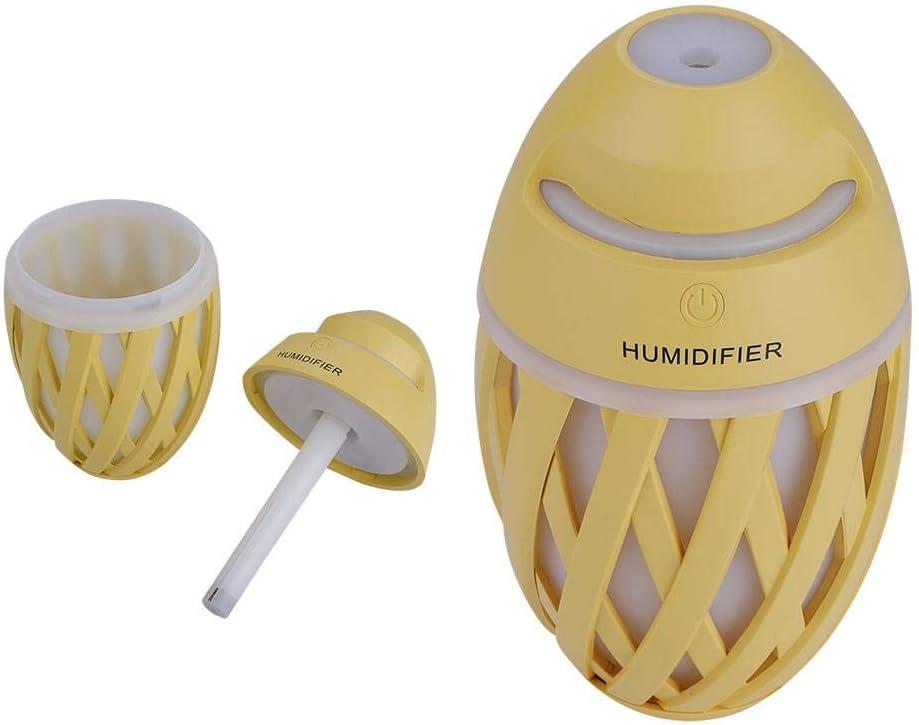 Mini humidificador portátil, purificador de aire USB de 320 ml con ...