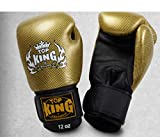 "TOP KING ""EMPOWER CREATIVITY"" MUAY THAI BOXING GLOVES -TKSGEM-02-GD-BLACK review"