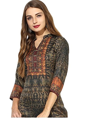 Lagi Kurtis Ethnic Women Kurta Kurti Tunic Digital Print Top Dress Casual Wear New Launch by by Lagi (Image #1)